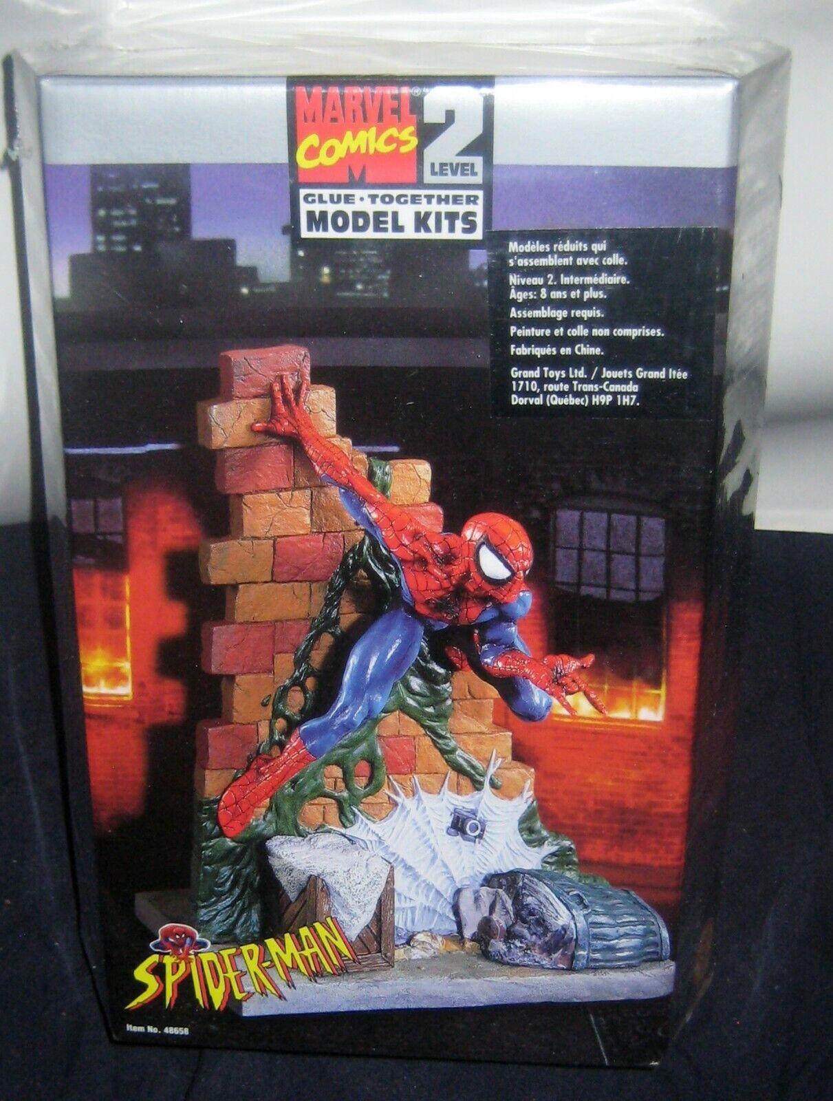 förundras Spider -Man SNAP tillsammans med modellllerL KIT, NIVEL 2 -- NY, FACTORY SEALD.
