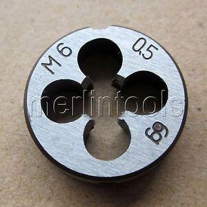 731314c5-a222-11e9-8d7c-4cedfbbbda4e X-Dr M14 x 1.5mm Metric 38mm OD Left Hand Round Threading Die Thread Cutting Tool