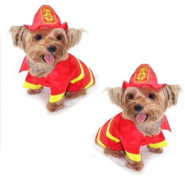 Alta Calidad Perro Disfraz - Bombero Disfraces - Vestido Tu como un Fire Man