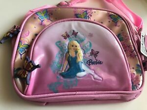 Barbie Umhängetasche Kindergarten Conchilla  Lunch Bag Pink Tasche 10230 Mattel