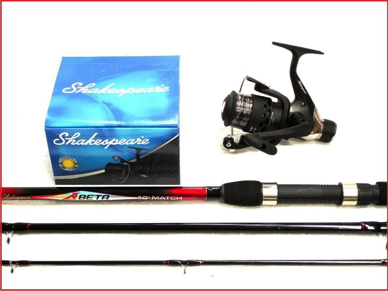 Shakespeare Beta Float   Match 10 ft Fishing Rod + Beta FD Reel with Line