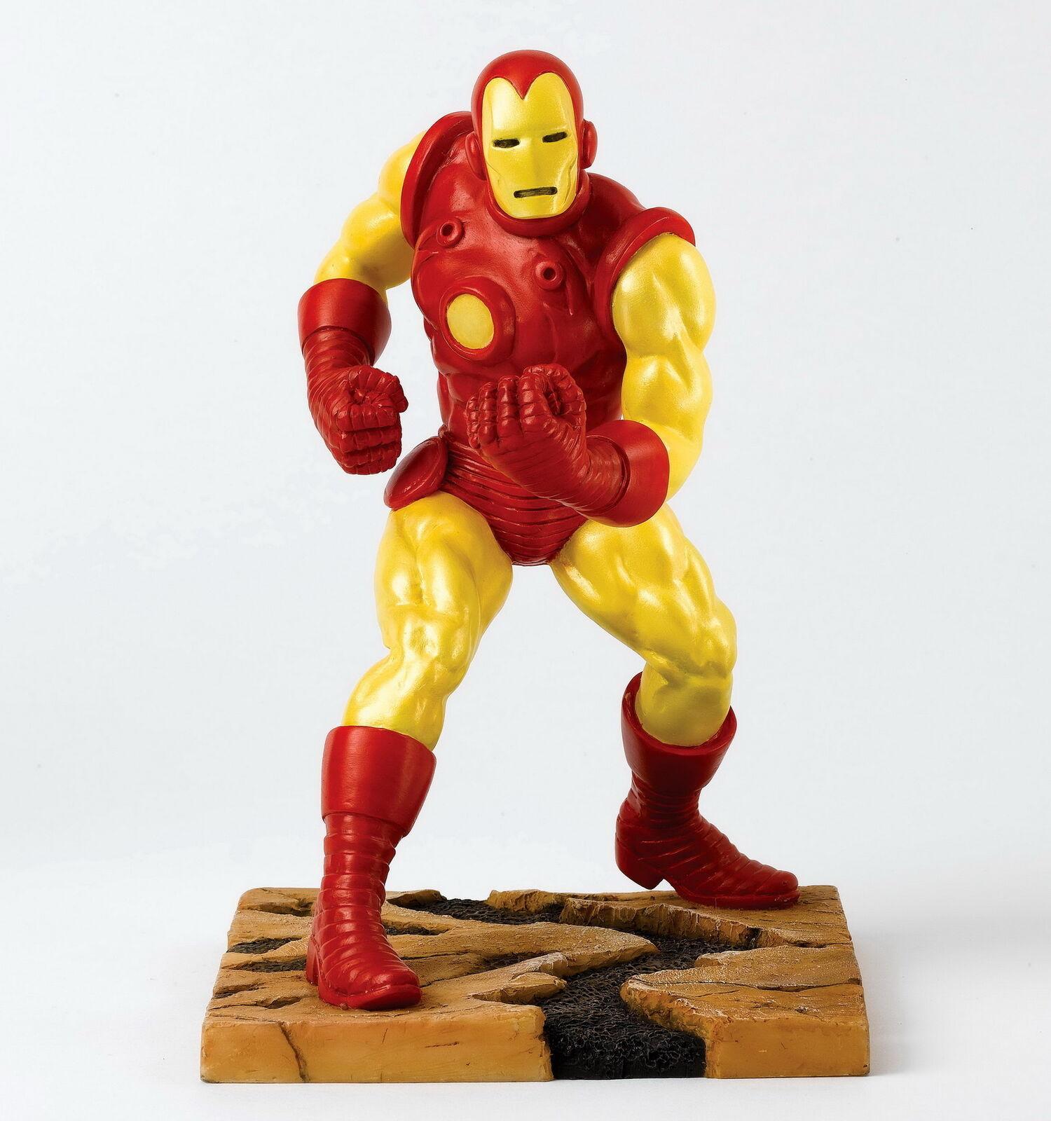 Marvel Enesco Super Héros Sculpture -   Iron Man   - A27598 - 15 X 15.5 X 21 Cm