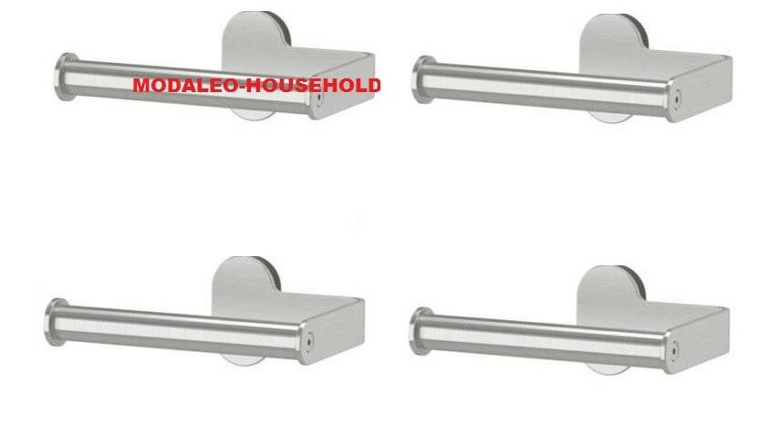 IKEA-brogrundtoilet carta carta carta tessuto Chrome Dispenser Storage titolare 003.285.40 720077