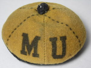 RARE-Antique-Vintage-1940s-UNIVERSITY-OF-MISSOURI-MIZZOU-MU-SEWING-PIN-CUSHION