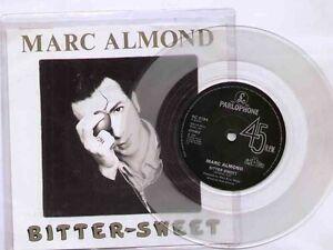 Marc-Almond-Bitter-Sweet-NEW-MINT-CLEAR-vinyl-7-inch-single