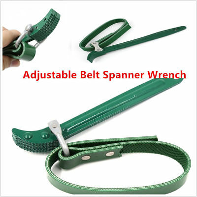 Car Engine Repair Tool,12/' Belt Wrench Remover Oil Filter Straps Spanner Car Engine Repair Removal Convenient Tool Designed with Anti-slip Helical Burr