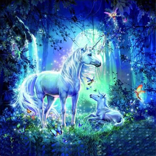 Full Drill 5D Diamond Painting Kits Embroidery Home Arts Craft  Fairy Unicorn