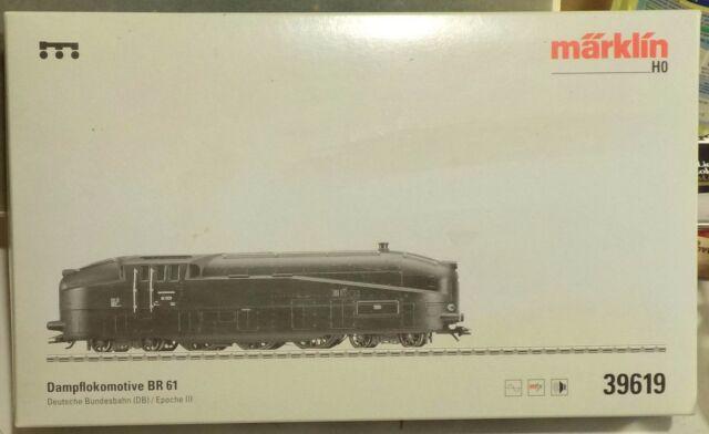Märklin 39619 Stromlinien-Lok Br 61 Neu in OVP
