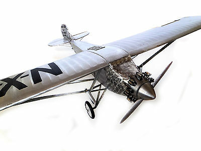 """Authentic Model Airplane 19.5"""" Spirit of St Louis.Charles Lindbergh Own"""