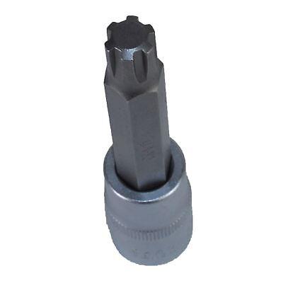 "M13 x 78mm Impacted Impact Extra Long Ribe Bit 1//2/"" Drive Male Socket"