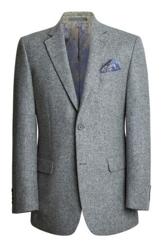 Men/'s Light Grey Tweed Blazer