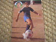 JOHAN CRUYFF SPANISH CARD 91 GEPRODESA 1984 APRENDE A JUGAR A FUTBOL