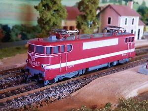 Marklin-3059-SNCF-BB-9291-CAPITOLE-HO-Locomotive-Electrique-Rouge