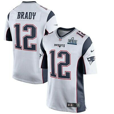 New Nike Tom Brady New England Patriots Super Bowl LIII 53 Game Event Jersey | eBay
