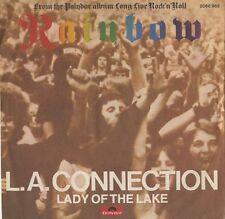 "RAINBOW L.A. Connection 1978 UK 7"" RED Vinyl Single EXCELLENT CONDITION"