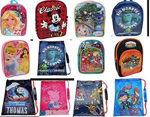 Disney Mochila Deporte Colegio Zapatillas Bomba Pe Gimnasio Natación Kit