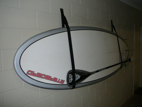 STRAPS  HOLDS BOARD /&  PADDLE STAND UP PADDLE BOARD  SUP STORAGE RACK