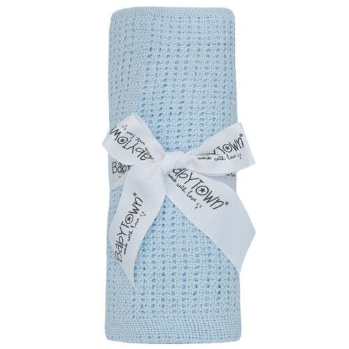 Manta de bebé recién nacido Bebés Azul Rosa Blanco Unisex Niños Niñas mantas Celular