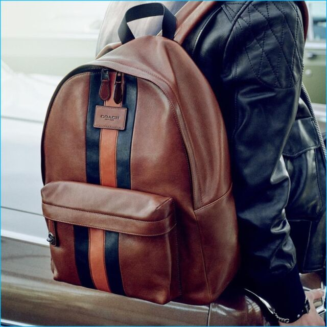 e75d3d638e6 COACH MODERN VARSITY CAMPUS BACKPACK IN SPORT CALF LEATHER   54205 RETAIL   595
