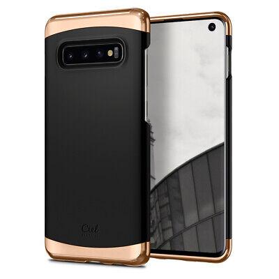 Galaxy S10, S10 Plus, S10e Ciel by Cyrill [Colene]Two Part Matte Black Slim Case