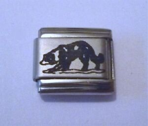 9mm-Italian-Charm-L2-Sheep-Dog-Border-Collie-Fits-Classic-Size-Bracelet