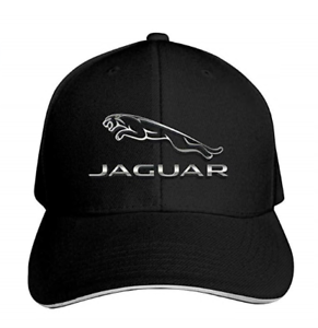 e46363f14f9c8 Jaguar Logo Car Emblem Unisex Peaked Baseball Cap Adjustable Cotton ...