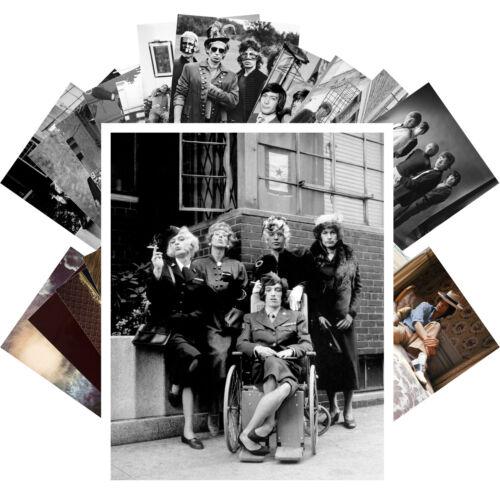 24 cards Rolling Stones Rock Mick Jagger Music Vintage CC1278 Postcards Pack