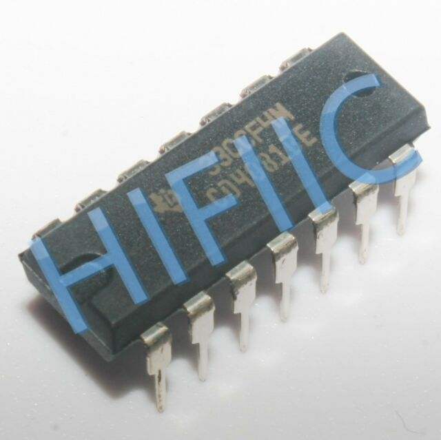 IC 8 Kanäle Inverter Eingänge 1 digital CMOS NAND THT DIP14 CD4068BE Tore