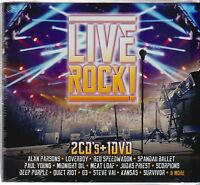 2 Cd's / 1 Dvd Live Rock Various Artist (2016, Sony Music) Now Shipping