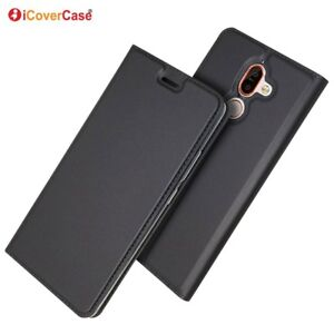 Magnetique-PU-Cuir-Flip-Case-AntiChoc-Carte-Cover-Pour-Nokia-7-Plus