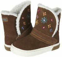 Stride Rite Shoes Dixie Chestnut Brown Boots 10 M