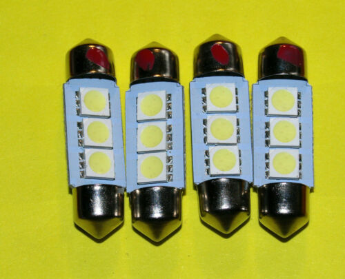 replaces 239//254 bulbs TRIUMPH GT6 Interior//number pl LED light bulbs 4