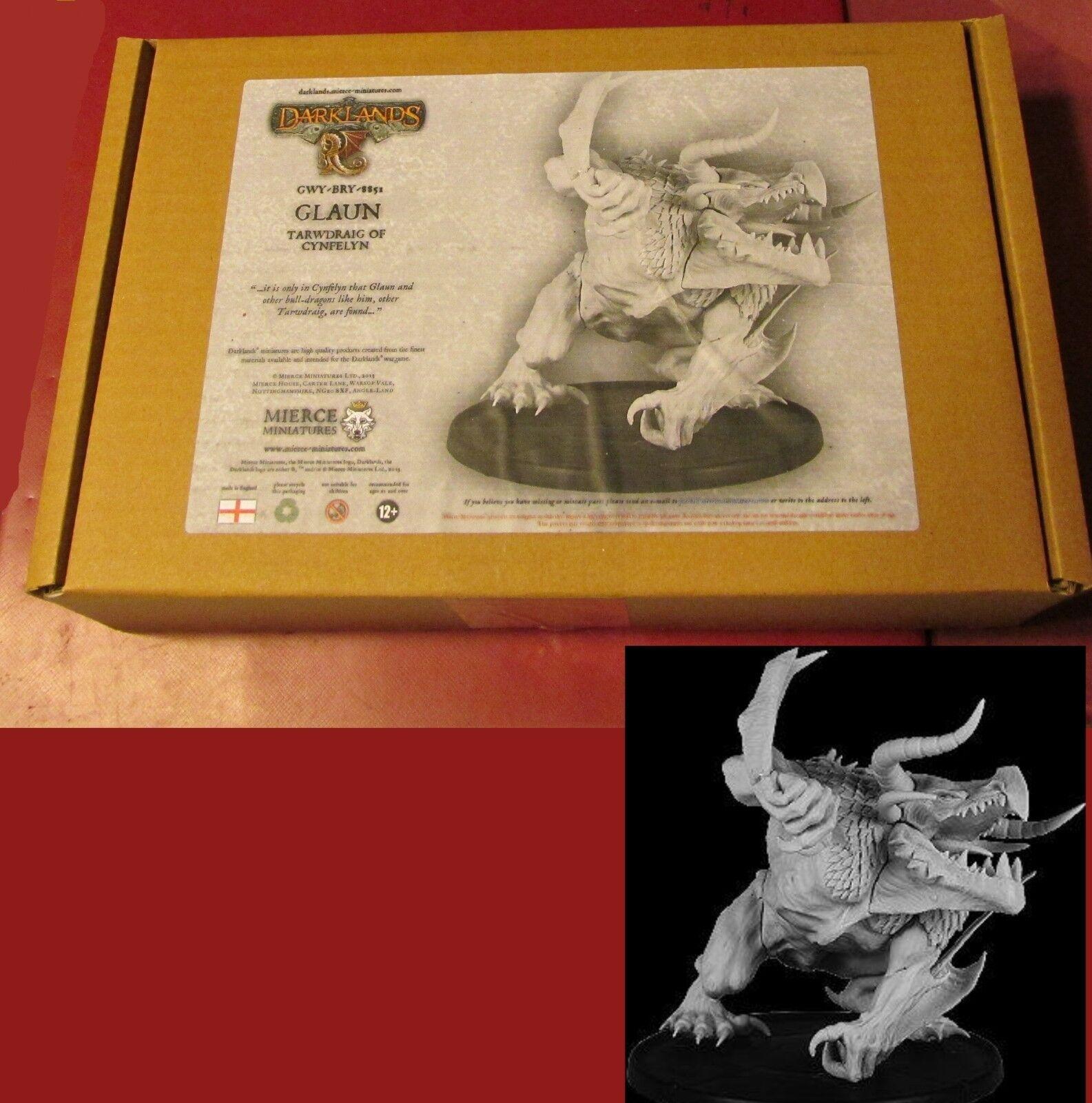 Darknles BRY-GWY-8551 Glaun Tarwdraiig di Cynfelyn (1) Miniature Bull-Dragon NIB