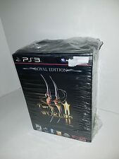 TWO WORLDS II ROYAL COLLECTORS EDITION(PS3 2011) BRAND NEW RARE NO DAMAGE TO BOX