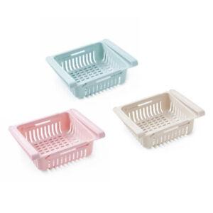 Under-Shelf-Storage-Basket-Holder-Rack-Hanger-Cupboard-Adjustable-Organiser-CY8Z