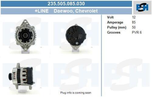 Lichtmaschine 235.505.085.030 CHEVROLET DAEWOO