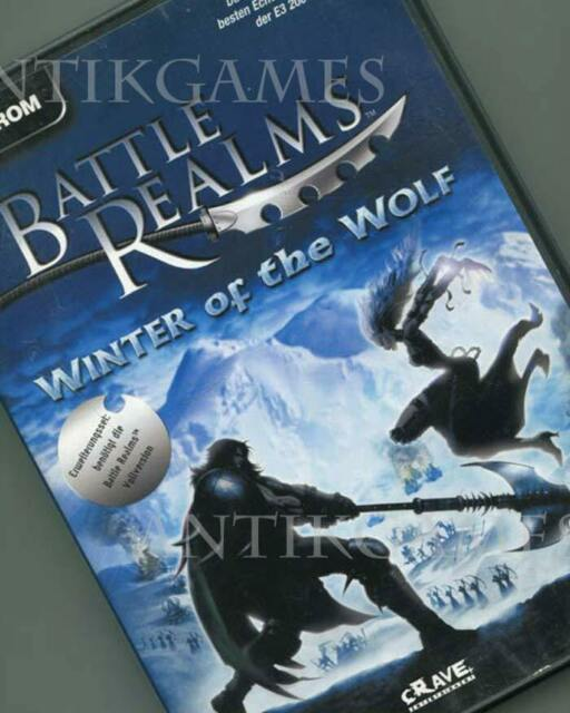 Battle Realms Winter Of The Wolf PC 2002 DVD-Box in deutsch mit Handbuch