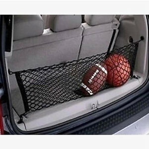1X-Black-Nylon-Car-Trunk-Rear-Cargo-Organizer-Storage-Elastic-Mesh-Net