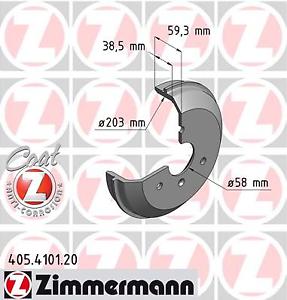 Zimmermann 405.4101.20 Bremstrommel COAT Z