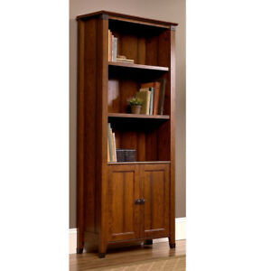 Craftsman-Mission-Shaker-Bookcase-w-Wrought-Iron-New-Made-in-the-USA