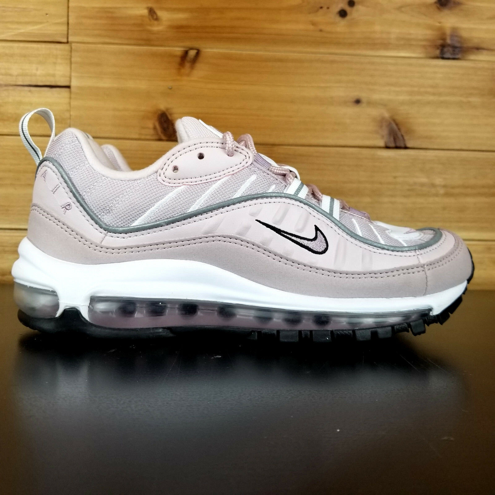 Nike Air Max 98 Women's shoes pink PINK LIGHT RED WHITE OFF AH6799-600