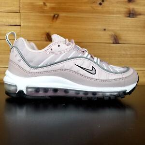 promo code d67c7 b6c88 La foto se está cargando Nike-Air-Max-98-Zapatos-de-Mujer-Rosa-