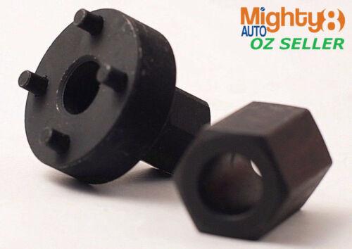 13pc Alternator Freewheel Pulley Removal Set Hex Torx Spline 33T Free Wheel Pull