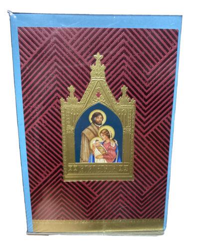 Hallmark Holiday Christmas 16 Cards /& 17 Envolope Mary Joseph Jesus Religious