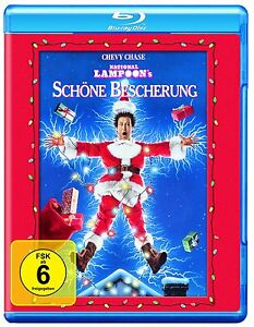 BELLA-BESCHERUNG-Die-stridula-Vier-CHEVY-CHASE-Santa-Clause-BLU-RAY-nuovo