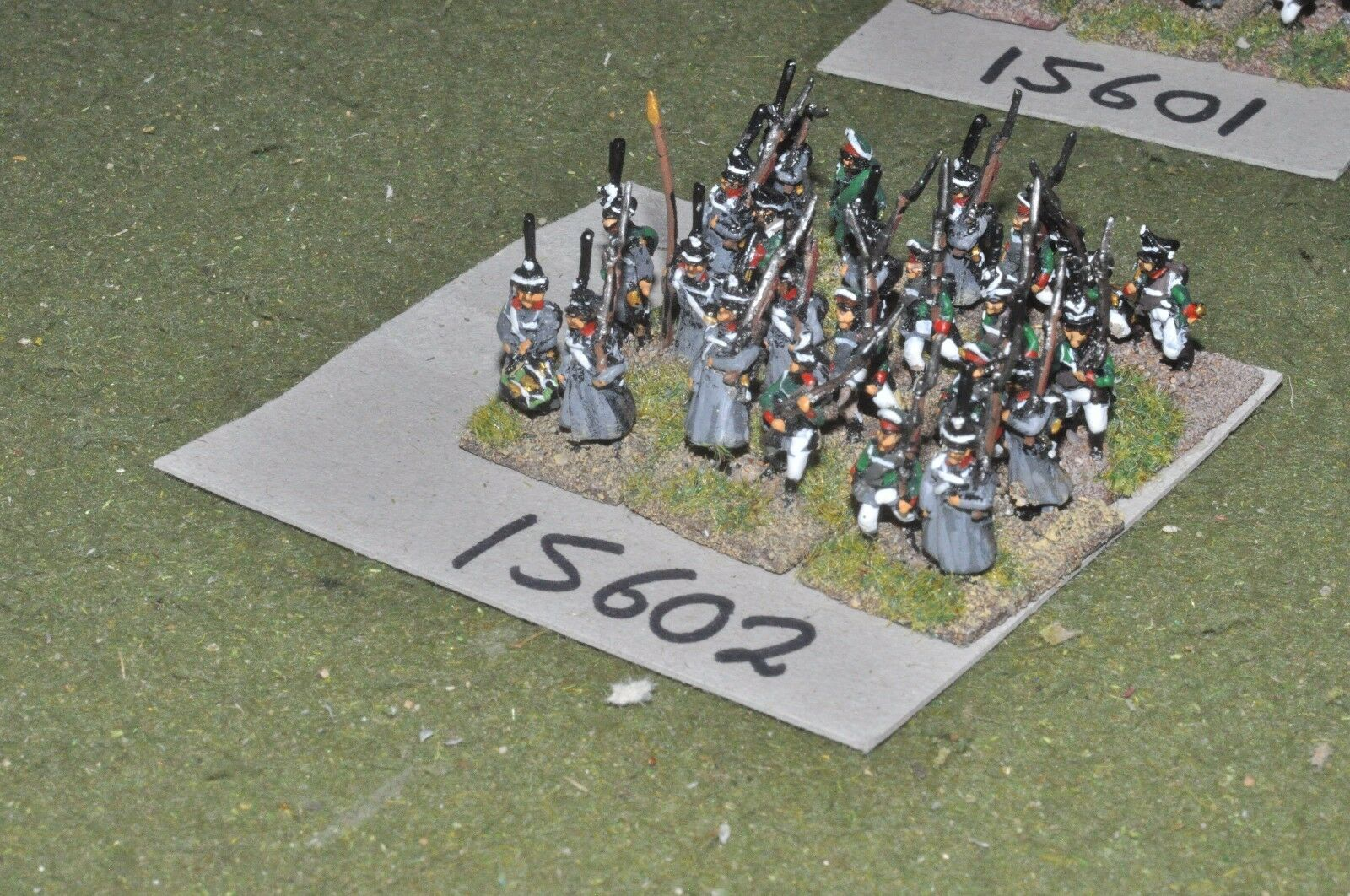 15mm napoleonic   russian - infantry 24 figs - inf (15602)