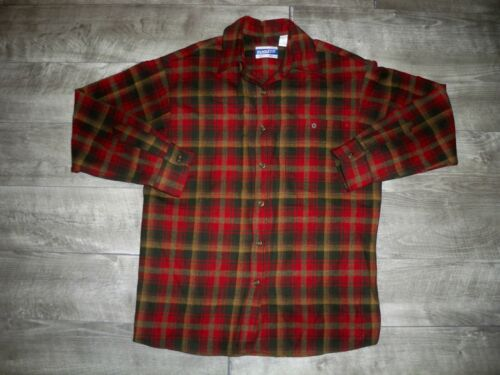 Vintage Pendleton Knockabout Shirt Virgin Wool Cla