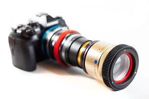 Isco Micro Anamorphic Lens PREMIUM SINGLE FOCUS, Rack Focusing, for