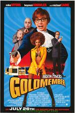 GOLDMEMBER MOVIE POSTER AUSTIN POWERS DS Original One Sheet JAMES BOND SPOOF !