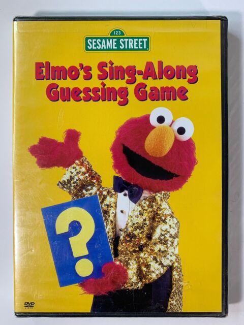 Sesame Street - Elmo's Sing-Along Guessing Game (DVD, 2003) New & Sealed Genuine